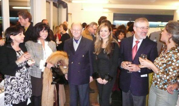 Die Botschafter von Mexiko und Spanien in der Schweiz mit Elizabeth Arciniega